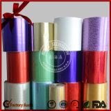 Strato metallico Assorted del nastro di colore pp di natale