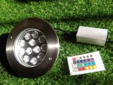 12 LEDs de acero cubierta de metro de luz LED inoxidable (JP824121)