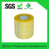 6 rollos de cinta de BOPP paquete pegamento acrílico OPP adhesiva para el lacre del cartón