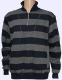 재킷, Sweatershirt 의 형식 Hoody 의 세척된 의복이 Mens에 의하여 뜨개질을 했다