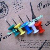 22mm Couleur pourpre de Hang Tag en forme de poire Safety Pin ( P150629A )