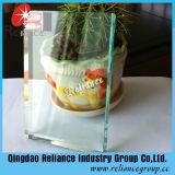 El Ce y la ISO certifican el vidrio de flotador del claro de 2mm-19m m