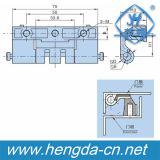 Cerniera celata in lega di zinco di uso del Governo di Cina di alta qualità Yh9318