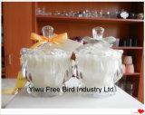Velas perfumadas del día de fiesta de gama alta del exportador de China con la tapa