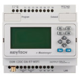 GSM/SMS/GPRS PLC, Ideal Solution für Remote Control u. Monitoring, das Applications (EXM-12DC-DA-RT-WiFi-HMI, &Alarming ist)