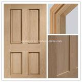 Puerta sólida de madera de la puerta de entrada de la puerta interior/puerta de madera del fuego con el certificado