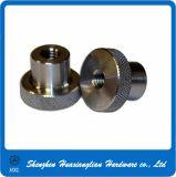 DIN 466 inoxidable/laiton/noix moletée en acier de pouce avec le collier