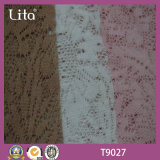 Polyester gebürstetes Spitze-Gewebe-Kleidungs-Material