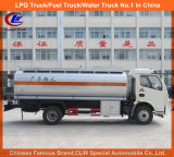 Pétrole remplissant le camion avec le camion de distributeur de l'essence 6000liters
