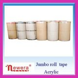BOPP Jumbo Roll Large Size Shipping Adhesive Tape Clear e Yellowish