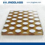 Verres de sûreté estampés par Digitals en céramique de fritte de Spandrel de construction en gros