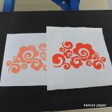 Aucun papier de transfert thermique de sarclage d'individu de coupure pour le tissu de coton