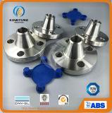 La bride F304/304L de la norme ANSI B16.5 solides solubles Wn a modifié la bride avec du ce (KT0274)