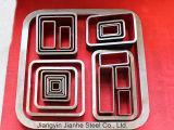 Tubos rectangulares de acero fríos/acabados en caliente de /Square