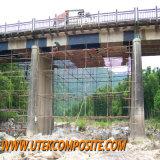 Fibra del carbonio per la parete civile della costruzione