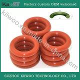 공장은 주조한 고무에 의하여 제작된 자연적인 실리콘고무 O-Ring를 주문을 받아서 만들었다
