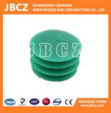 Protezione della plastica dell'accoppiatore del tondo per cemento armato