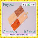 Nuevo producto de tarjetas USB de madera, tarjeta de visita USB (GC-M13)