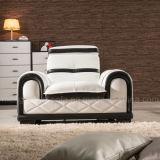 Sofa de cuir de fonction de loisirs (862#)