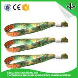 Wristbands barato tejidos maravillosos de encargo del diseño y de la manera