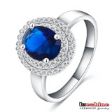 Boutique Sapphire Zircon Wedding Ring pour Women (CRI0126-B)