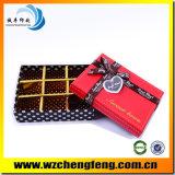 Keur Verpakkende Vakje van het Suikergoed van het Huwelijk van het Document van de Orde van de Douane het Rode goed