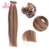 Capelli umani brasiliani P4-27# di Remy di estensione dei capelli del chiodo dei capelli di punta di prezzi di sconto delle parrucche del K.S U