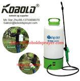 Batterie-Wasser-Sprüher des Garten-12L8l mit Rädern