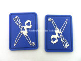 Boa qualidade personalizado Soft PVC Label Hook & Loop Patch