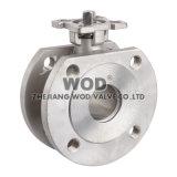 Тип шариковый клапан Pn16/Pn40 вафли фланца (тип диска)