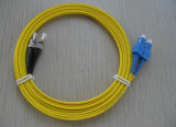 Sc di Shenzhen Factory Supply a FC Patchcord, Sc a FC Duplex Simples Fiber Patch Cord con Highquality Past 3D Test
