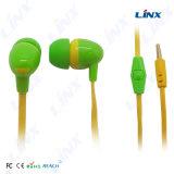 평면 케이블을%s 가진 선전용 입체 음향 형식 다채로운 이어폰