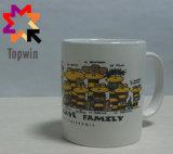 Tazze di ceramica personalizzate marchio poco costoso promozionale