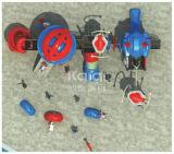 Campo da giuoco esterno dei bambini di serie del robot di Kaiqi con le attività di avventura