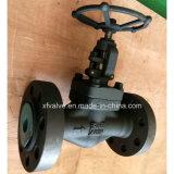 API602 Hochdruck1500lb schmiedete Stahlflansch-Enden-Kugel-Ventil