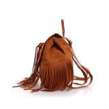 Самый лучший продавая край Daypack Wzx1138 PU Sude Backpack Tassel повелительниц
