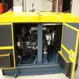 4 바퀴 20kVA 휴대용 디젤 엔진 발전기를 가진 삼상 380V 20kVA 침묵하는 디젤 엔진 발전기