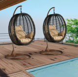 Top Selling Outdoor Garden Sytical Rattan Furniture Swing Chair como novo design (YTA856)