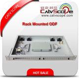 """고품질 1u/19 """" 광섬유 케이블 선반 거치된 배급 Box/ODF"""
