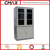 Glass Swing Door Cmax-Sc006를 가진 서류 캐비넷 Full Height 찬장