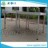AluminiumPortable Wooden Stage 2*1m mit 3feet Adjustable Legs für Sale