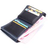 주문을 받아서 만들어진 유일한 색깔 진짜 가죽 지갑 마술 디자인 지갑