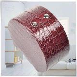 Populäre PUlederne Leatherette-Ring-Aufbewahrungsbehälter