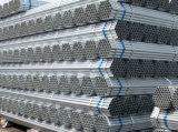 Tubo de acero redondo del carbón Q345D Pregalvanized