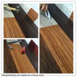 Plancher de Porter-Résistance de clic de vinyle de PVC de protection de l'environnement d'isolation saine