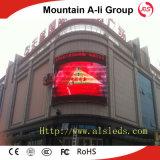 Alameda de compras P10 que hace publicidad de la visualización de LED al aire libre