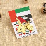 Fabrik-kundenspezifische Gold-UAE-Andenken-Stifte mit Magneten