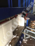 Bloco de gelo da boa qualidade que faz a planta da máquina com mais baixo preço