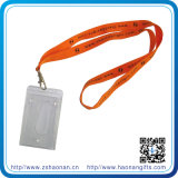 Im Freiensport-Thema-Stutzen-Halter-Abzuglinie mit Identifikation-Kartenhalter