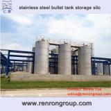 Большое силосохранилище S-10 хранения бака пули нержавеющей стали